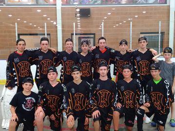 New Tecumseth ball hockey team heading to nationals
