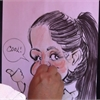 On the job with a caricaturist
