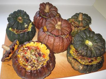 Stuffed Squash for Thanksgiving
