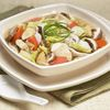 Japanese simmered chicken with vegetables a meal in itself
