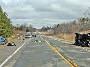 Crash closes Highway 24