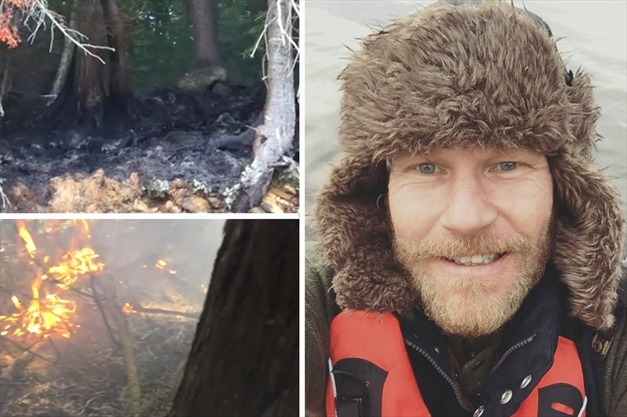 Canoeist discovers, battles remote Algonquin blaze sparked by campfire