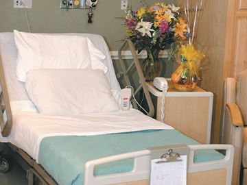 HOSPITAL BED CUTS IN BRACEBRIDGE