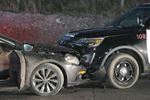 Stolen vehicle collides with NRP SUV