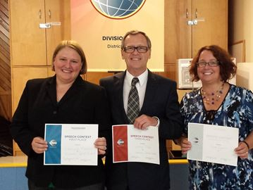 Stittsville Toastmasters Club holds its first-ever contests