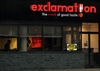 Exclamation restaurant