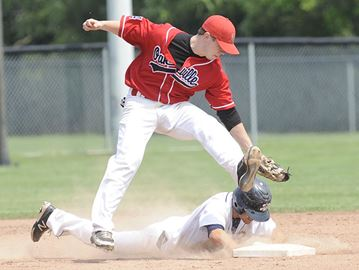 Oakville's A's win 7-1 over the Burlington Bulls