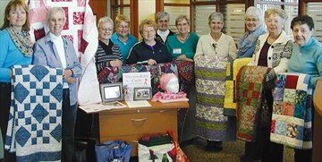 Making quilts to provide to cancer patients– Image 1
