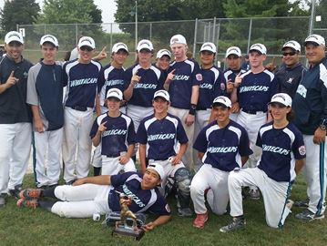 Junior Whitecaps Oakville Little League's first SOBA provincial champ
