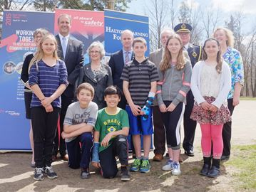 Milton students learn importance of rail safety through program