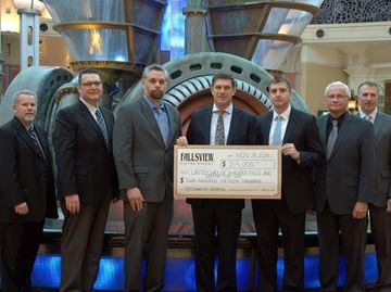 Casinos help United Way