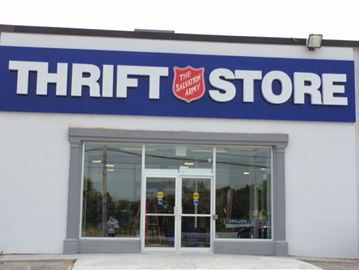 Thrift store in new location