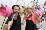 Nine ribbers preparing a feast for Oakville Ribfest attendees this weekend