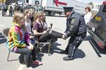 Burlington teens learn tips about safe driving