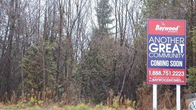 Mapleview development site up for sale in Barrie