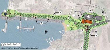 Honey Harbour Waterfront Development plan