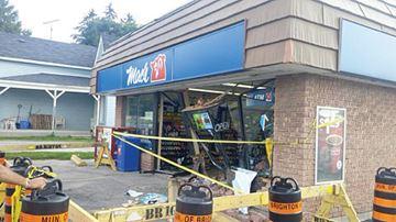 Mac's crash in Brighton