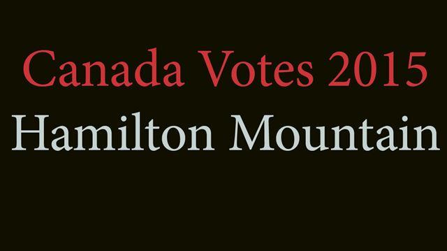 Hamilton Mountain federal candidates 2015