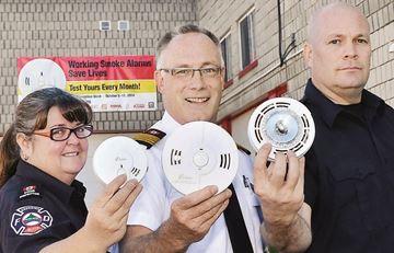 Smoke alarms save lives