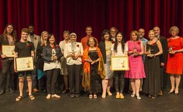 Arts Award winners