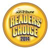 2014 Stouffville Sun Tribune Readers Choice Logo