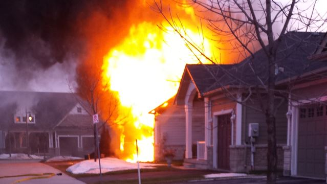 Fire destroys home in Collingwood