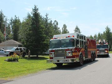Firefighters respond to electrical malfunction in Corkery