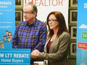 Land Transfer Tax Rebate -- Jeff Leal, Dianne Tully