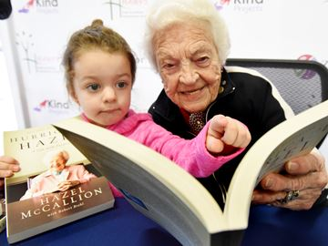 McCallion book signing