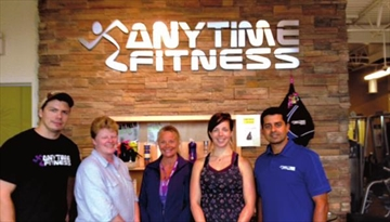 Anytime Fitness works out for BDH– Image 1