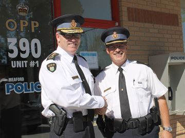 OPP Commissioner visits Meaford