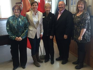 Feds fund flooring for Wasaga seniors group