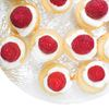 Raspberry Vanilla Mini Cupcakes