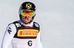Hirscher leads an Austrian 1-2-3 in 1st slalom run at worlds-Image1