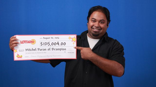 Brampton resident wins $125,004 with Lottario
