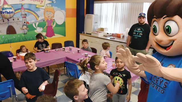 Birthday party ideas for children in Durham Region