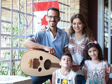 Refugee family settling into new life in Welland