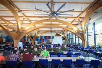 A look inside CFB Borden's stunning new mess hall