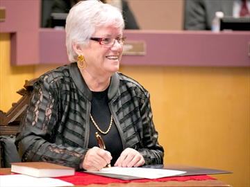 Uxbridge Mayor Gerri Lynn O'Connor