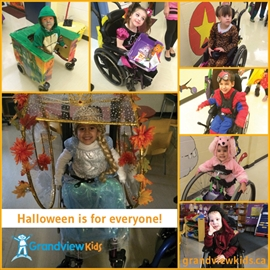 Grandview Halloween celebration