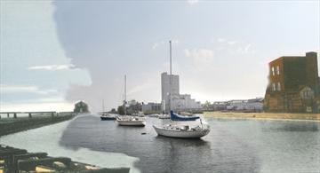 Port Hope Harbour -- throwback