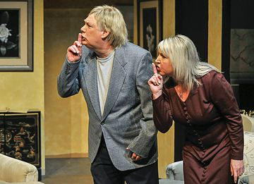 "The Huronia Players production of ""Communicating Doors"" will hit the stage at the Midland Cultural Centre for 10 performances starting this Friday."