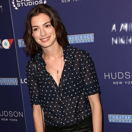 Anne Hathaway 'happier than ever'-Image1