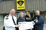 Police raise funds for OSPCA in Orillia