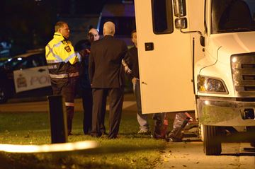 Two police officers shot on duty in Pelham