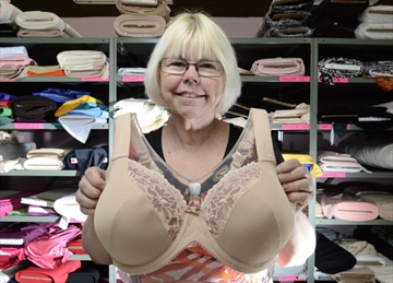 Hamilton woman carves unique niche teaching custom bra-making