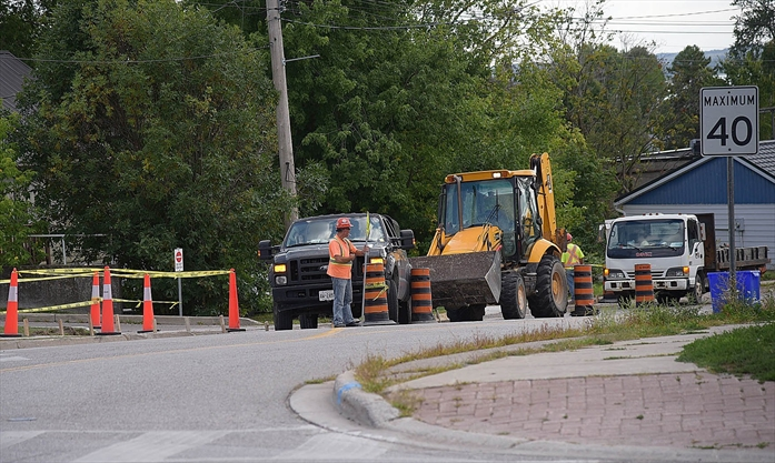 WHAT'S GOING ON HERE?: Map of roadwork in Georgina