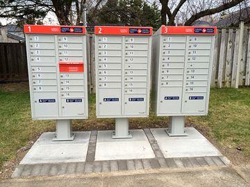 Canada Post super mailbox Elmhurst Drive