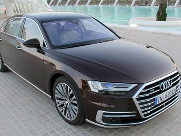 The 2019 Audi A8 is arguably the most advanced vehicle on the road today and is the first to be produced capable of Level 3 autonomous driving.