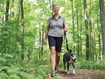 Green Durham Association trail maps Liz Calvin